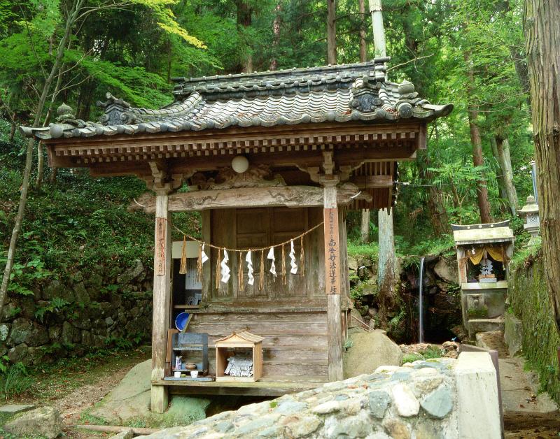 大滝神社と名水